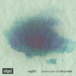 "we are more than happy to invite a good friend and extraordinary musician over for our first release on edged: ben lukas boysen aka hecq carries you deep into the waving silence of the seabed with his remix of skyence's ""pain call"" which will be out soon on his bandcamp."